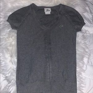 Authentic Lacoste knitted short sleeve